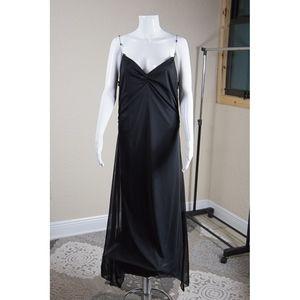 Bisou Bisou Formal Dress with Jewelry straps Sz 14